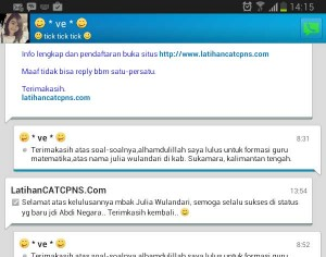 Latihan Cat Cpns Online Gratis Share The Knownledge
