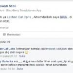 Irmawati Sabli Testimoni