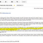 Email yang pernah diterima pengelola dari administrator@menpan.go.id berpendapat situs ini cukup berbobot mengenalkan sistem CAT